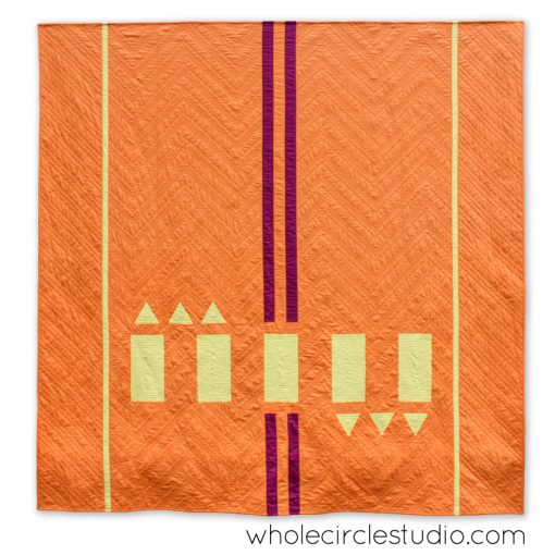 Road Work Quilt by Whole CIrcle Studio : Pattern available for 4 sizes. wholecirclestudio.com
