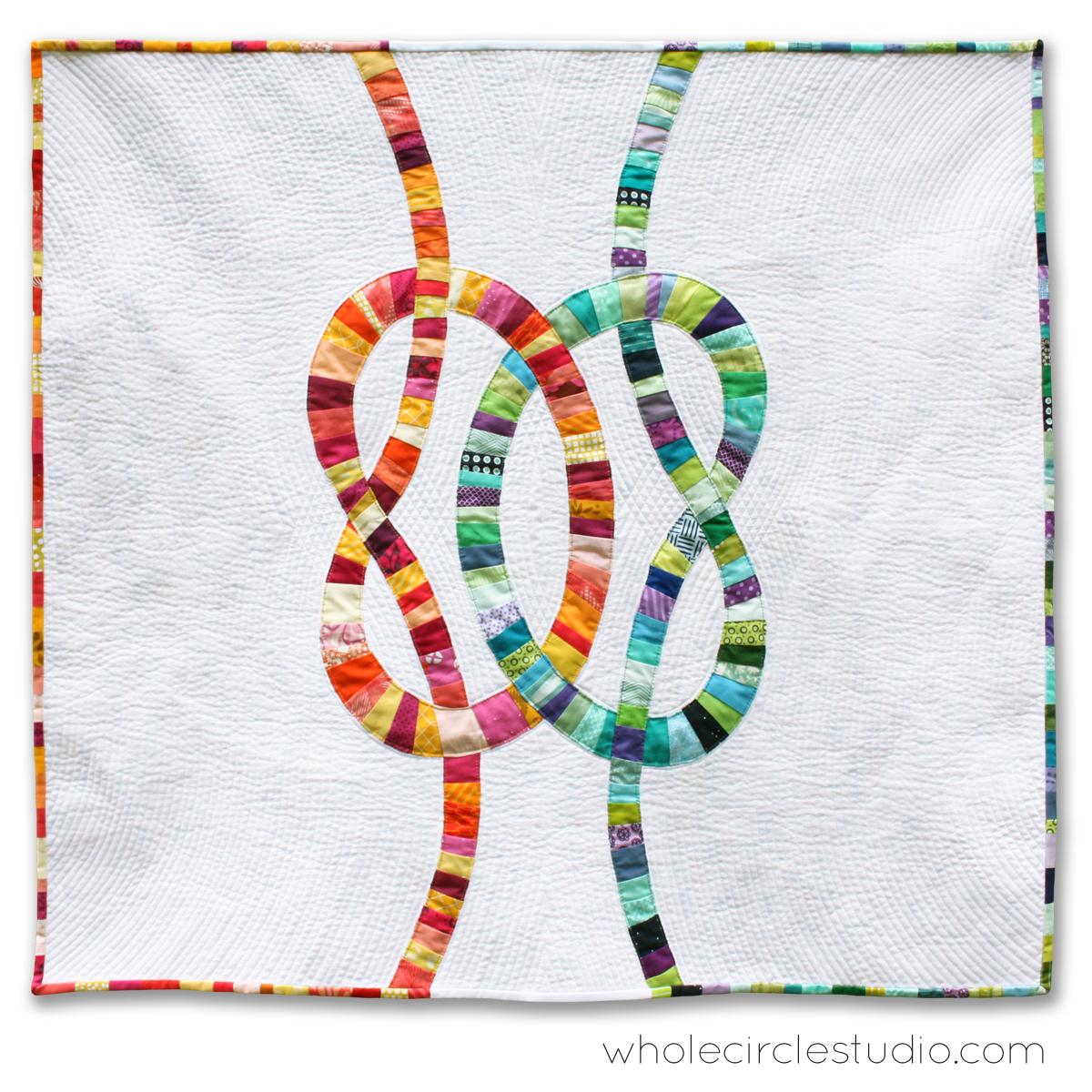 Double Wedding Knots Quilt Whole Circle Studio