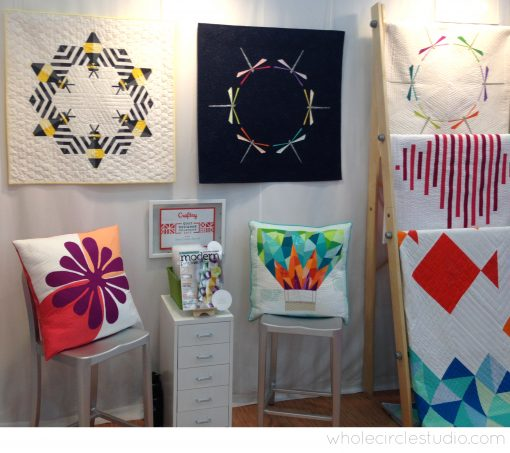 Whole Circle Studio booth at International Quilt Market